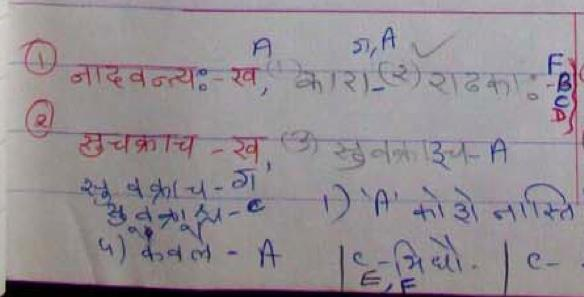 signifier in hindi